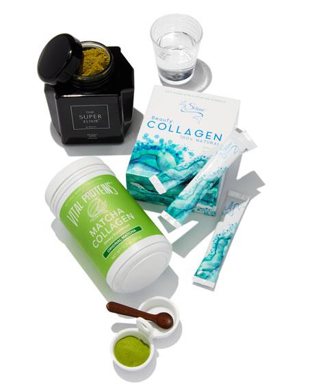 Blueberry Beauty Collagen (Marine), Powder Supplement (30 Servings)