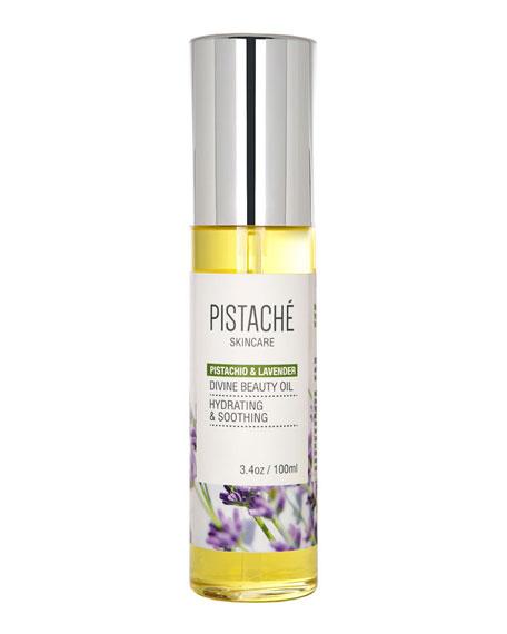 Pistache Pistachio & Lavender Divine Beauty Oil, 3.4 oz./ 100 mL