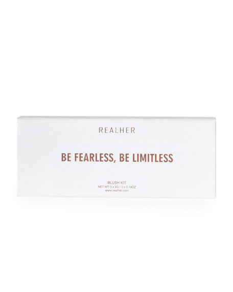 RealHer Be Fearless Be Limitless Blush Palette