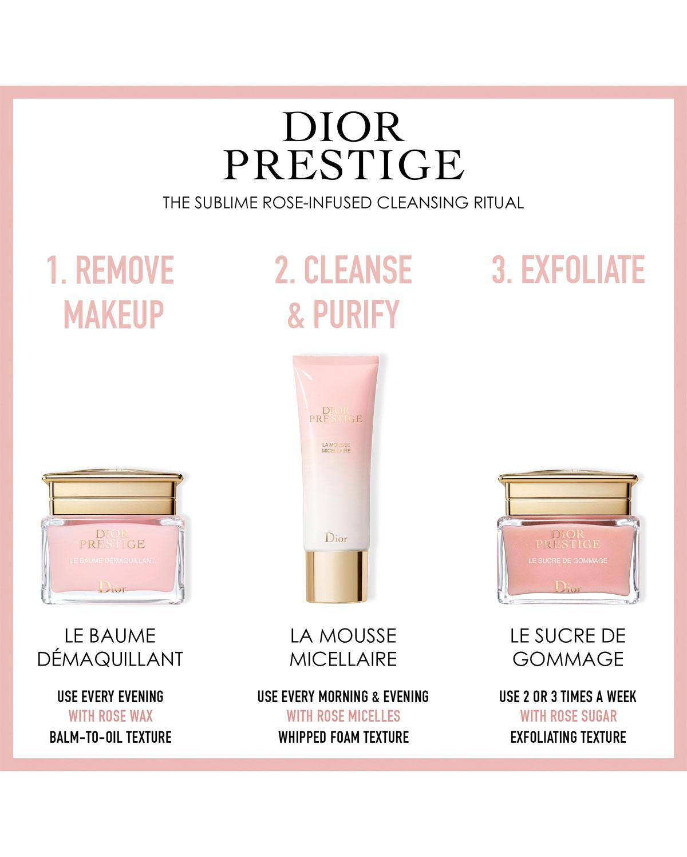 Dior 4 Oz Dior Prestige La Mousse Micellaire Neiman Marcus
