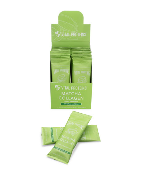 Vital Proteins Collagen Peptides Matcha Stick Pack Box