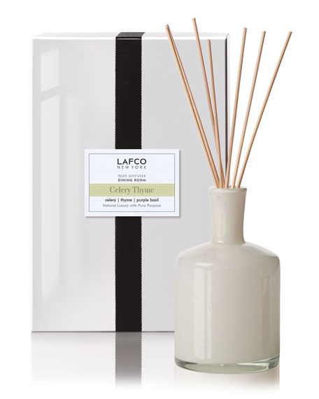 Lafco Celery Thyme Reed Diffuser – Dining Room, 15 oz./ 443 mL