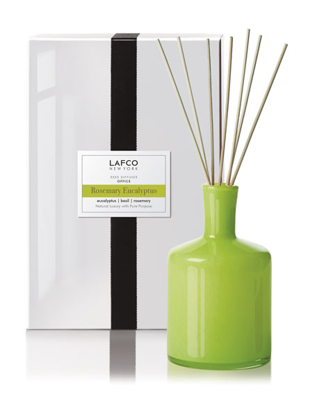 Lafco Rosemary Eucalyptus Reed Diffuser – Office, 15 oz./ 444 mL