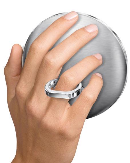 "4"" Sensor Mirror Compact, Brushed"