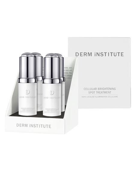 DERM INSTITUTE Cellular Brightening Spot Treatment, 4 x 0.2 oz./ 7 mL