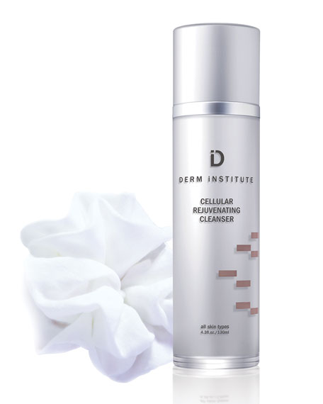 DERM INSTITUTE Cellular Rejuvenating Cleanser w/ Cloth, 4.3 oz./ 130 mL