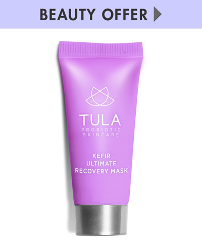 Yours with any $50 TULA Purchase—Online only*
