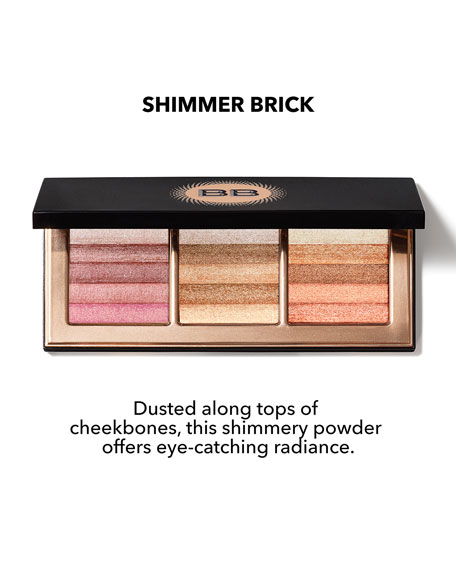 Limited Edition Warm, Define, Illuminate Collection Highlight & Glow Shimmer Brick Palette