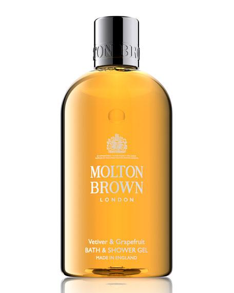 Molton Brown Vetiver & Grapefruit Bath & Shower Gel, 10 oz./ 300 mL