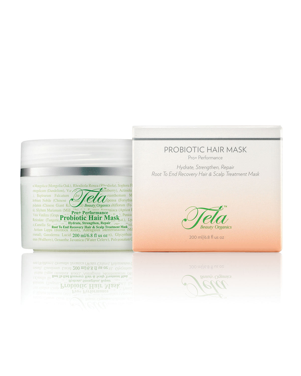 Tela Beauty Organics Probiotic Hair mL Mask, 6.8 oz./ 201 mL Hair 365557