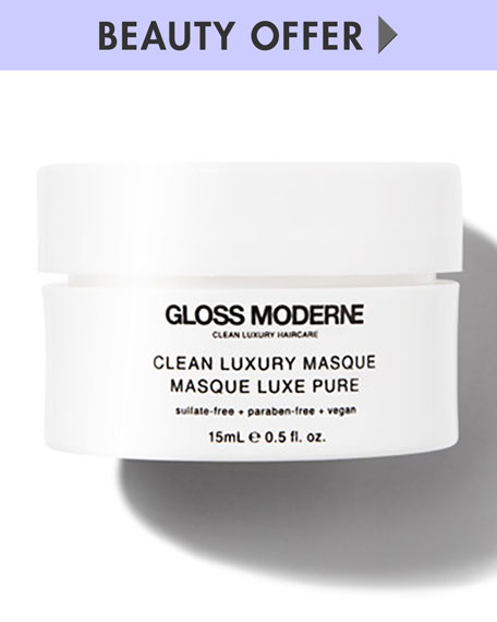 Yours with any $50 GLOSS Moderne Purchase