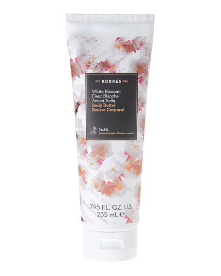 Korres White Blossom Body Butter, 7.9 oz./ 235 mL