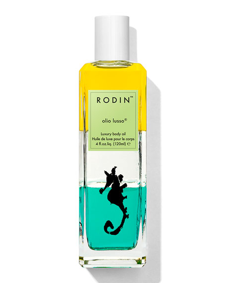 Limited Edition Mermaid Collection Olio Lusso Luxury Body Oil, 4 oz. / 120 ml