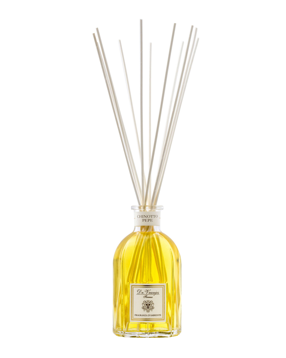 Dr. Vranjes Firenze 42 oz. Chinotto Pepe Glass Bottle Home Fragrance Diffuser