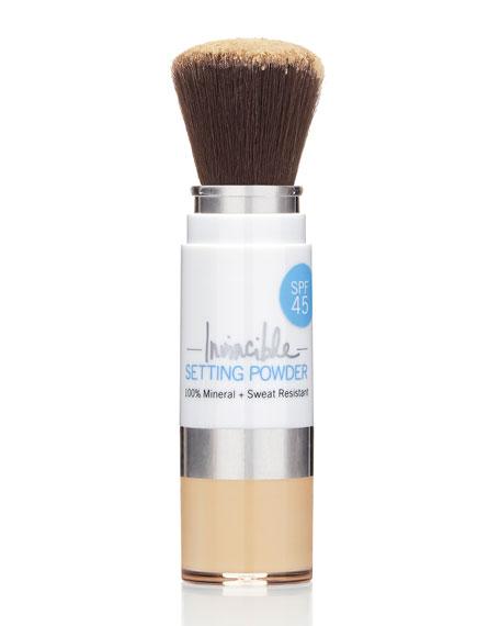 100% Invincible Setting Powder – Light