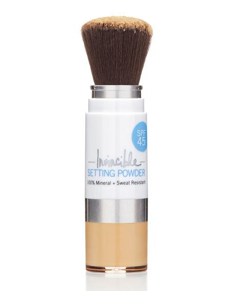 100% Mineral Invincible Setting Powder – Medium