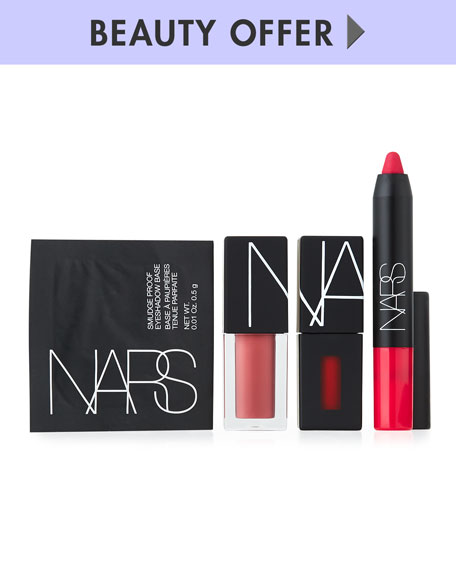 Yours with any $125 NARS Purchase—Online only*
