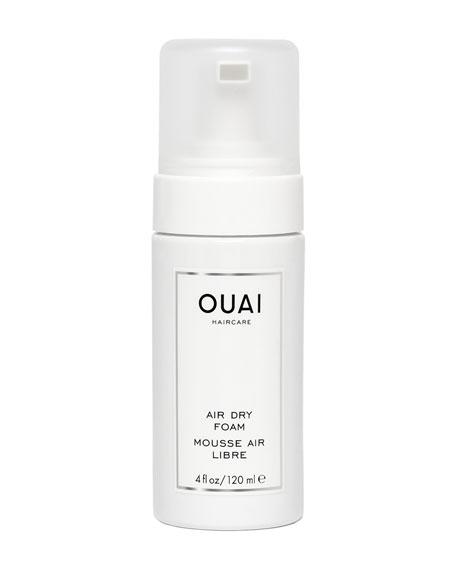 OUAI Haircare Air Dry Foam, 4 oz./ 120 mL