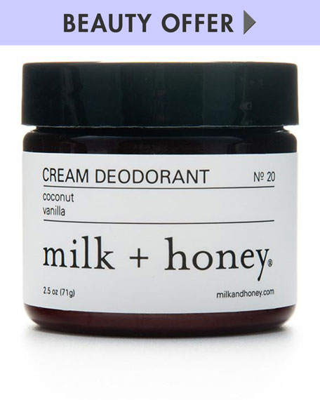 Yours with any milk + honey Purchase