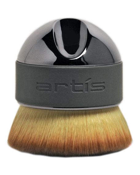 Elite Smoke Palm Makeup Brush