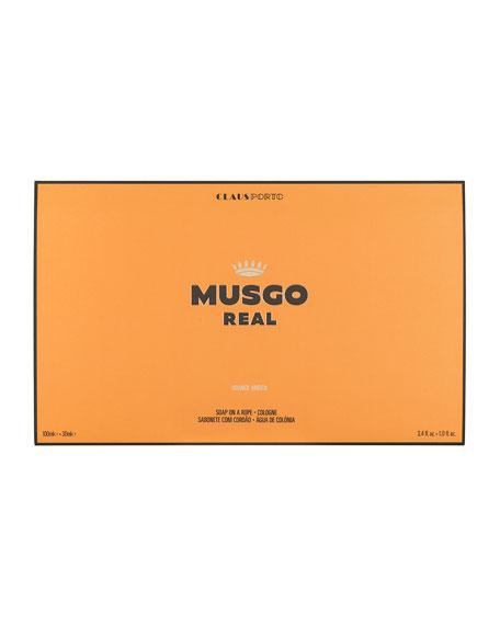 Gift Set (Soap on a Rope & Cologne) – Orange Amber