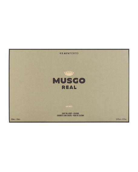 Gift Set (Soap on a Rope & Cologne) – Oak Moss