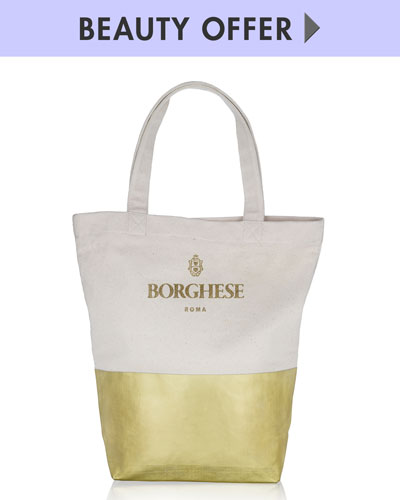 Yours with any $35 Borghese Purchase—Online only*