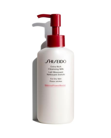 Shiseido Extra Rich Cleansing Milk, 4.2 oz./ 125 mL