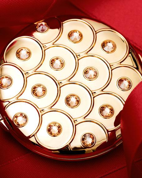 Estee Lauder Golden Peacock Perfecting Powder Compact
