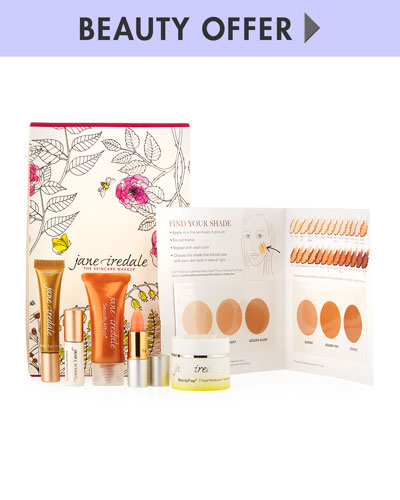 Yours with any $125 Jane Iredale Purchase