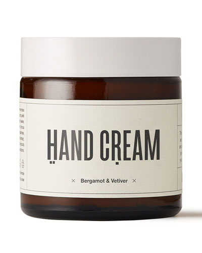 Hand Cream - Bergamot & Vetiver  4 oz./ 118 mL