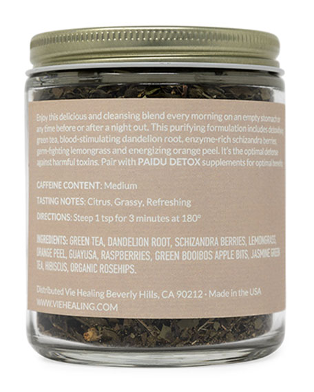 Image 2 of 3: Vie Healing 2.4 oz. Paidu Detox Loose Leaf Tea