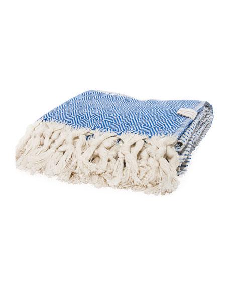 Vie Healing Medi Havlu Indigo Turkish Towel