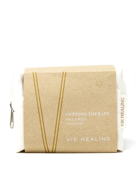 Vie Healing Facial & Body Cupping Set, 4 Pieces