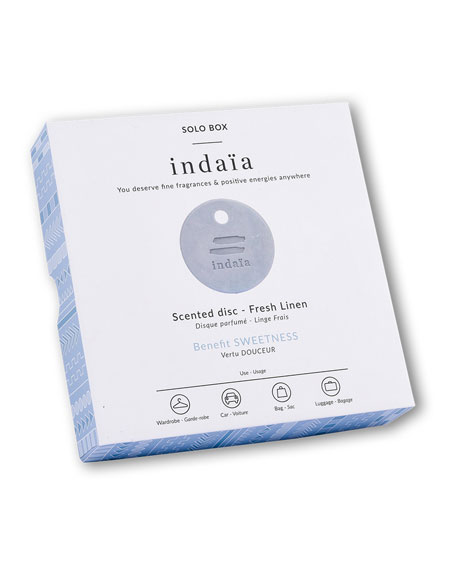 Image 2 of 3: Fresh Linen Scented Disc