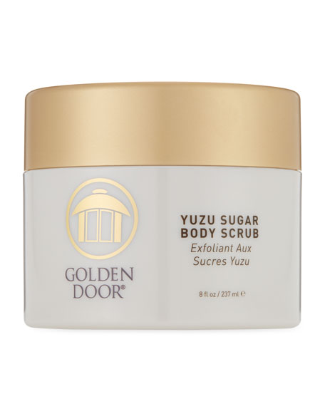 Golden Door Yuzu Sugar Body Scrub, 8.0 oz./ 237 mL