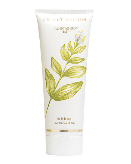 Hampton Sun Privet Bloom Body Lotion, 6.6 oz./ 195 mL