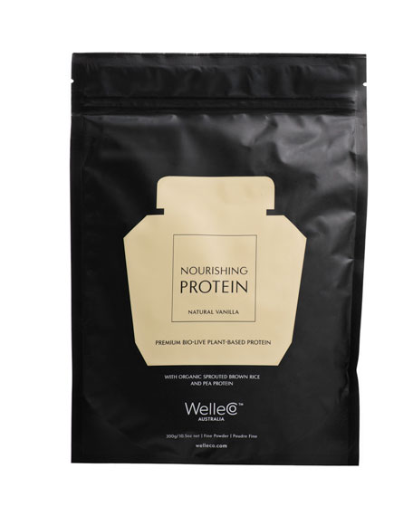WelleCo Nourishing Plant Protein, Vanilla