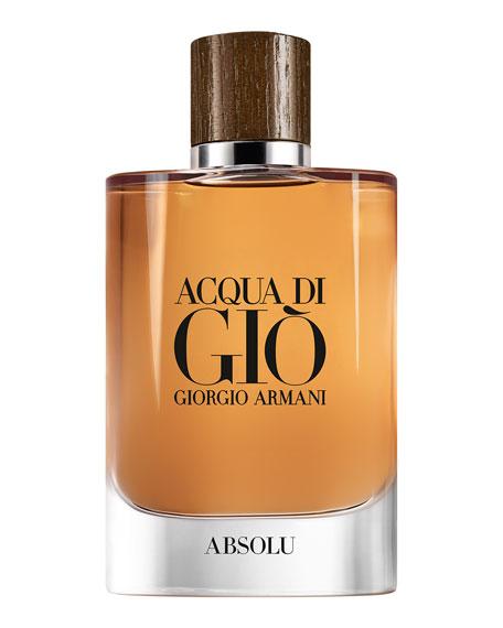 Giorgio Armani Acqua Di Giò Absolu Eau De Parfum, 4.2 oz. / 125 ml