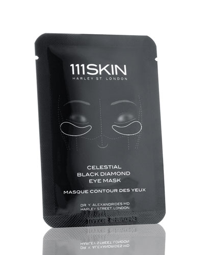 Celestial Black Diamond Eye Mask  Eight