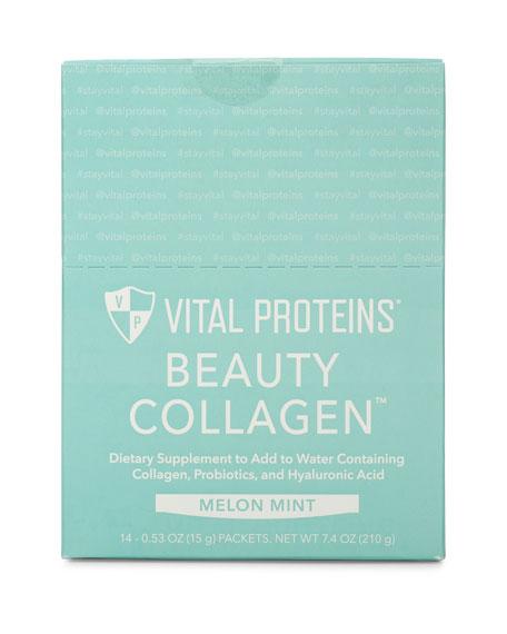 Vital Proteins Beauty Collagen (Melon Mint) Stick Pack Box, 14 Ct