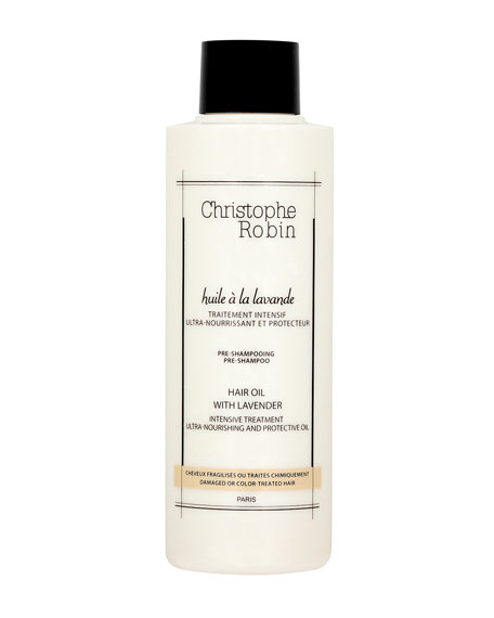 Christophe Robin Moisturizing Hair Oil with Lavender, 5.1 oz./ 150ml