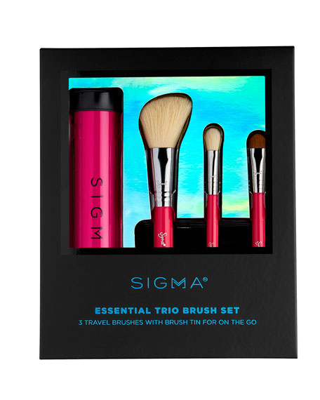 Sigma Beauty Essential Trio Brush Set