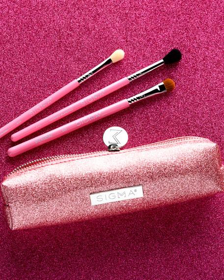 Sigma Beauty Passionately Pink Brush Set