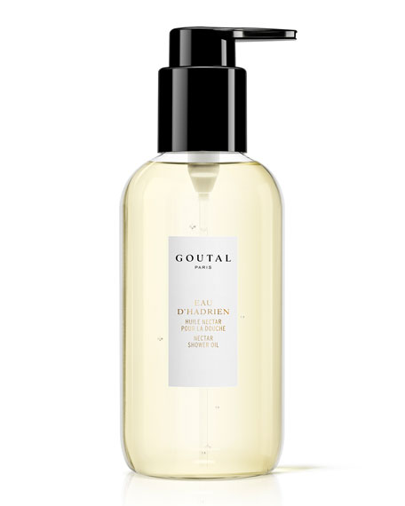 Goutal Paris Eau D'Hadrien Shower Oil, 6.8 oz./ 201 mL