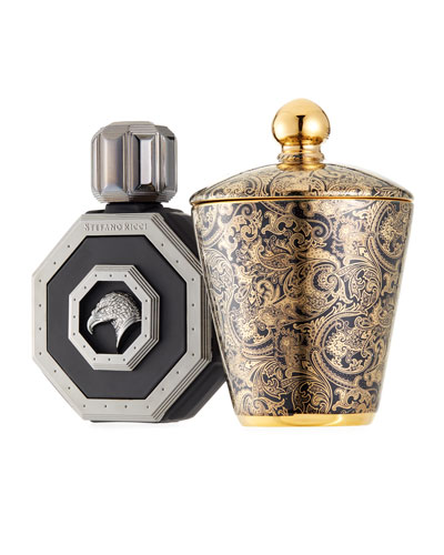 Men's Royal Eagle Cologne and Candle Gift Set