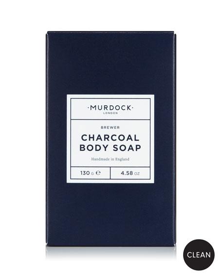 Murdock London Charcoal Body Soap, 4.58 oz./ 130 g