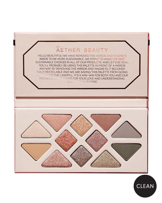 4f711e755cce Aether Beauty Rose Quartz Crystal Gemstone Makeup Palette