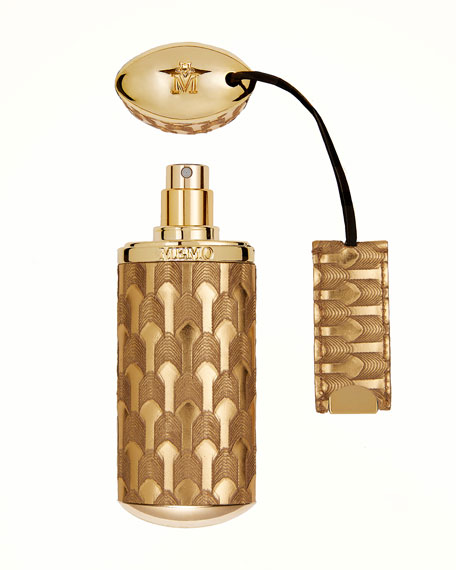 Memo Paris Gold Arrow Refillable Travel Spray