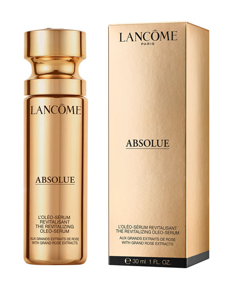 Image 4 of 5: Lancome 1 oz. Absolue Revitalizing Oléo-Serum